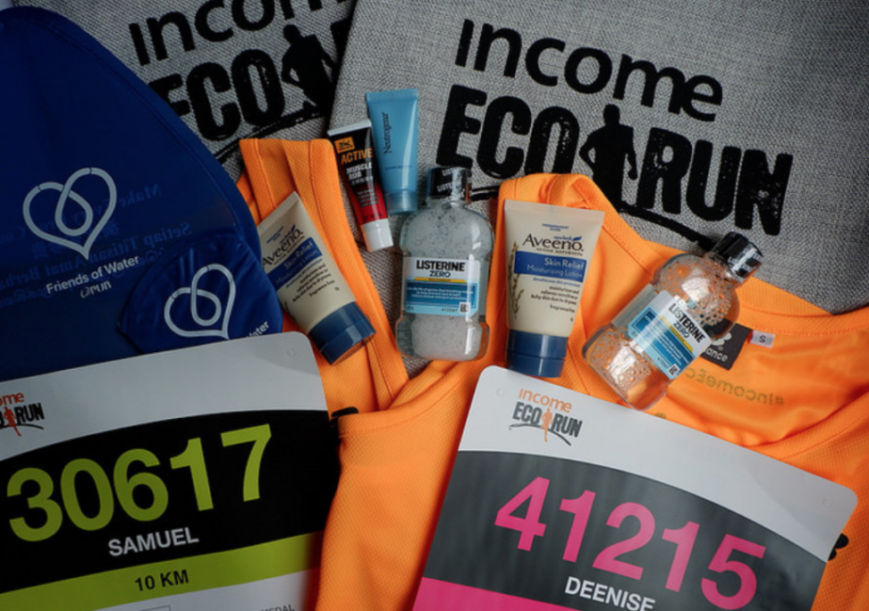 Income Eco Run 2017 : A Zerowaste Runner