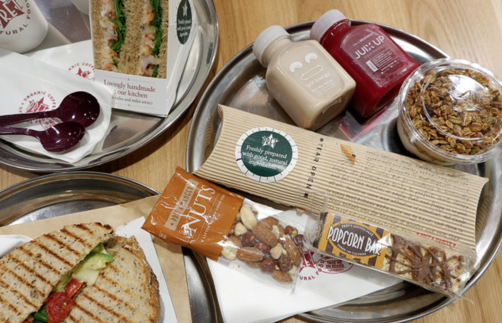 PRET A MANGER : Healthy On-the-Go Food at Changi Airport