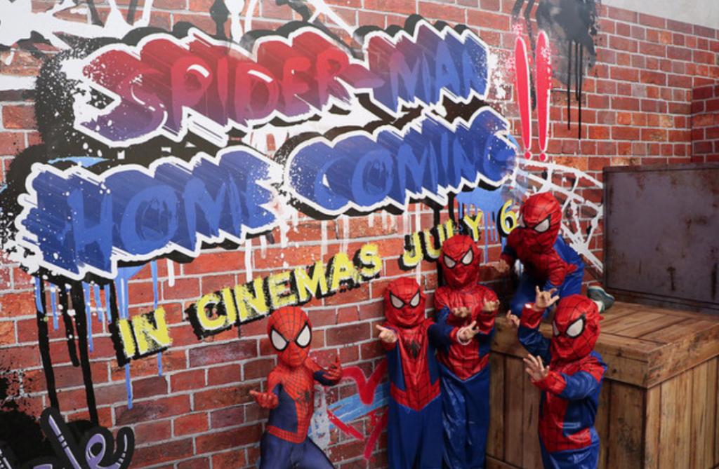 Spider-Man SWINGS by NEX