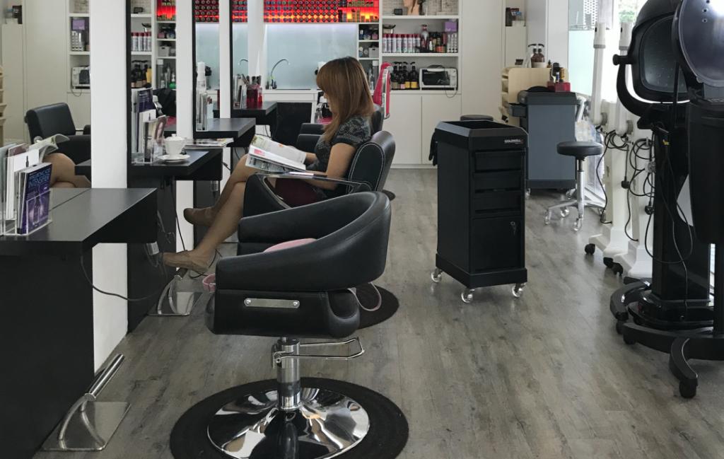 Geranium Hair Salon: Organic Hair and Scalp Treatment