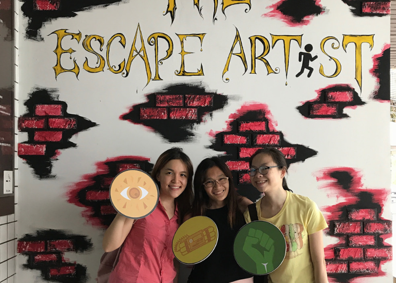 The Escape Artist: Not Your Usual Escape Room