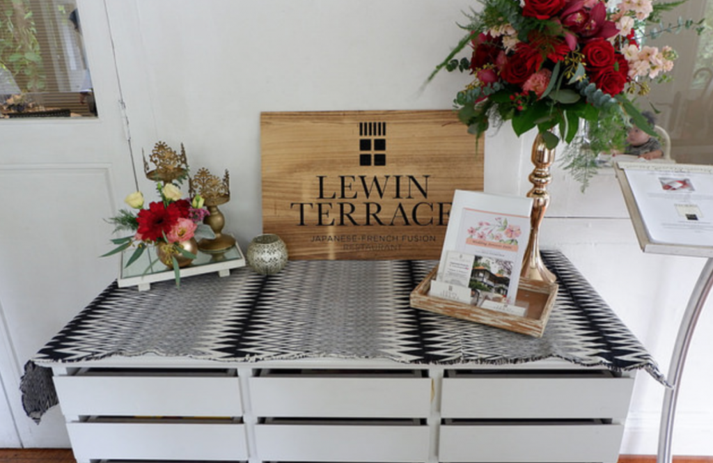 Lewin Terrace: Autumn Menu 2017