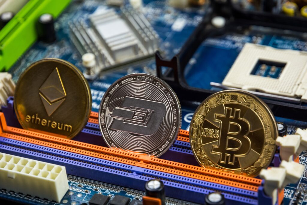 Bitcoin Ethereum Cryptocurrency