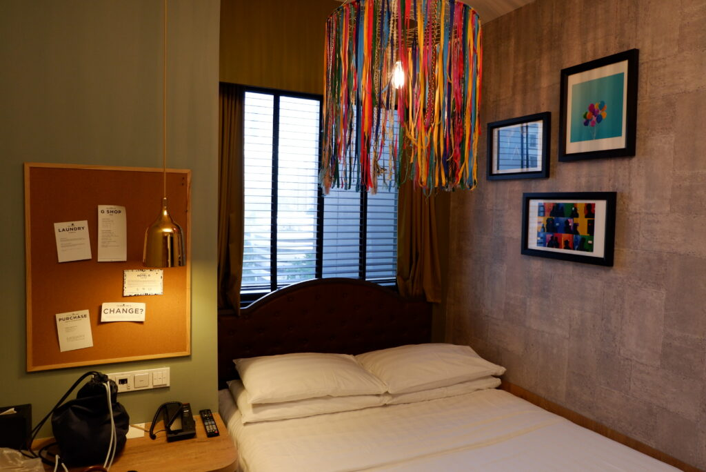 deeniseglitz Hotel G Singapore Middle Road staycation review the good room