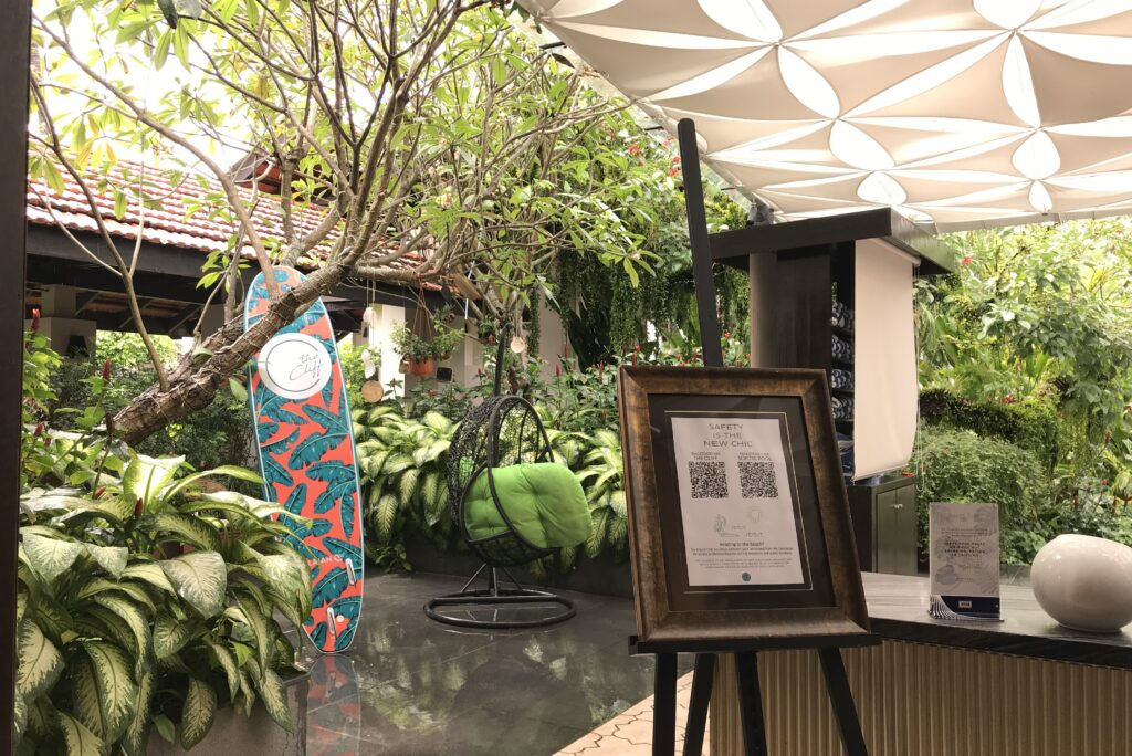 The Cliff restaurant Sofitel Singapore Sentosa Hotel Saturday Prosecco Brunch
