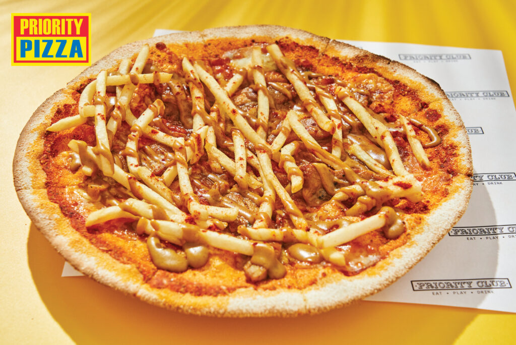 The Priority Club Pizza Delivery Service Singapore Pastas Curry Curry Revolution