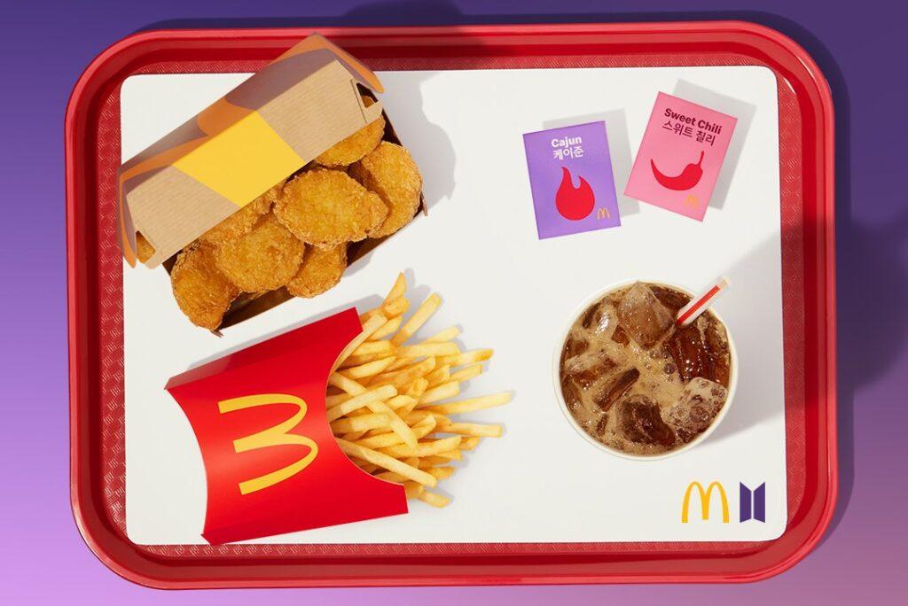 BTS meal BTS mcdonald's BTS meal singapore
