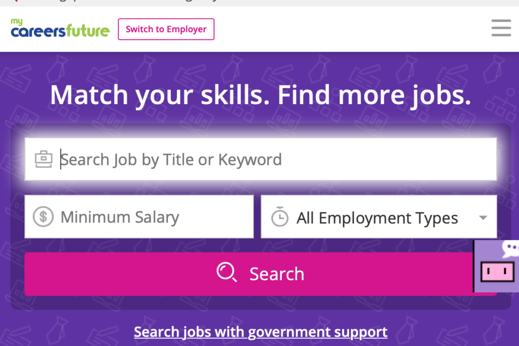 job search website mycareersfuture