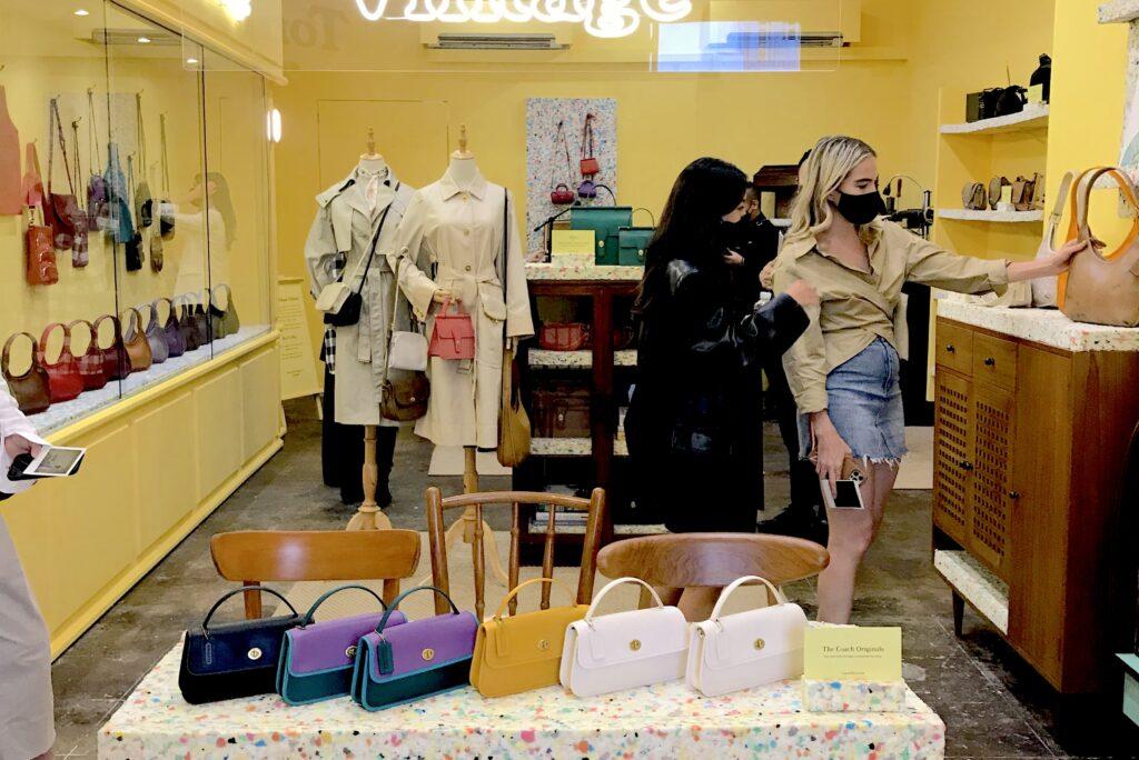 Coach Singapore Tomorrow's Vintage pop-store