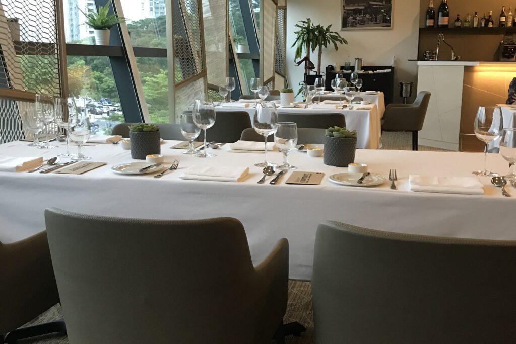 Amber West Student-run fine dining restaurant Singapore ITE West College