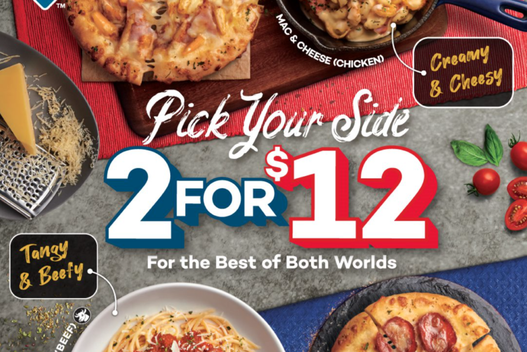Domino's Pizza Singapore Side Dishes Pasta