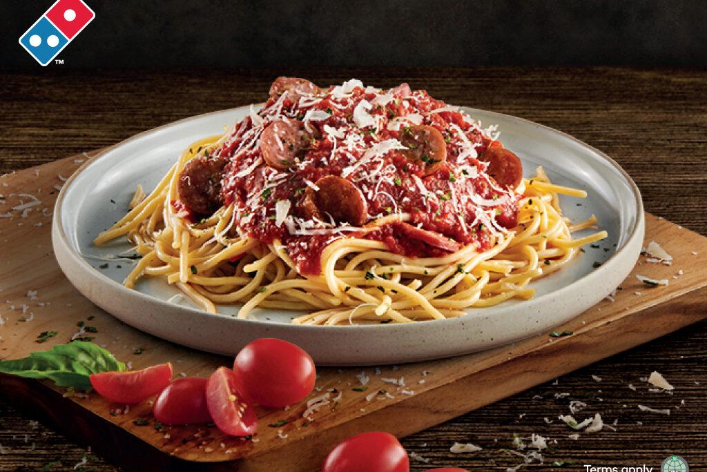 Domino's PIzza Spaghetti Beef