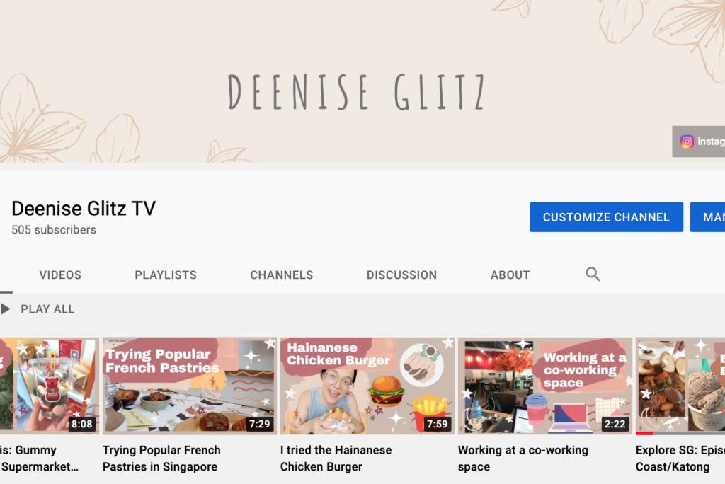 Deenise Glitz TV YouTube