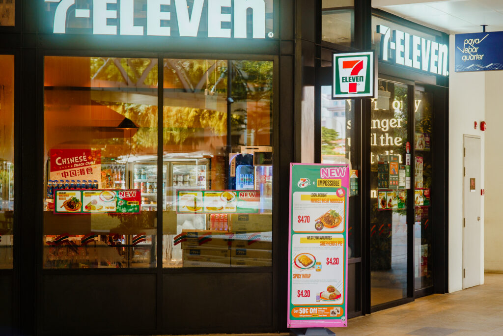 Impossible Foods 7-Eleven Singapore Impossible Beef Ready-to-eat meals