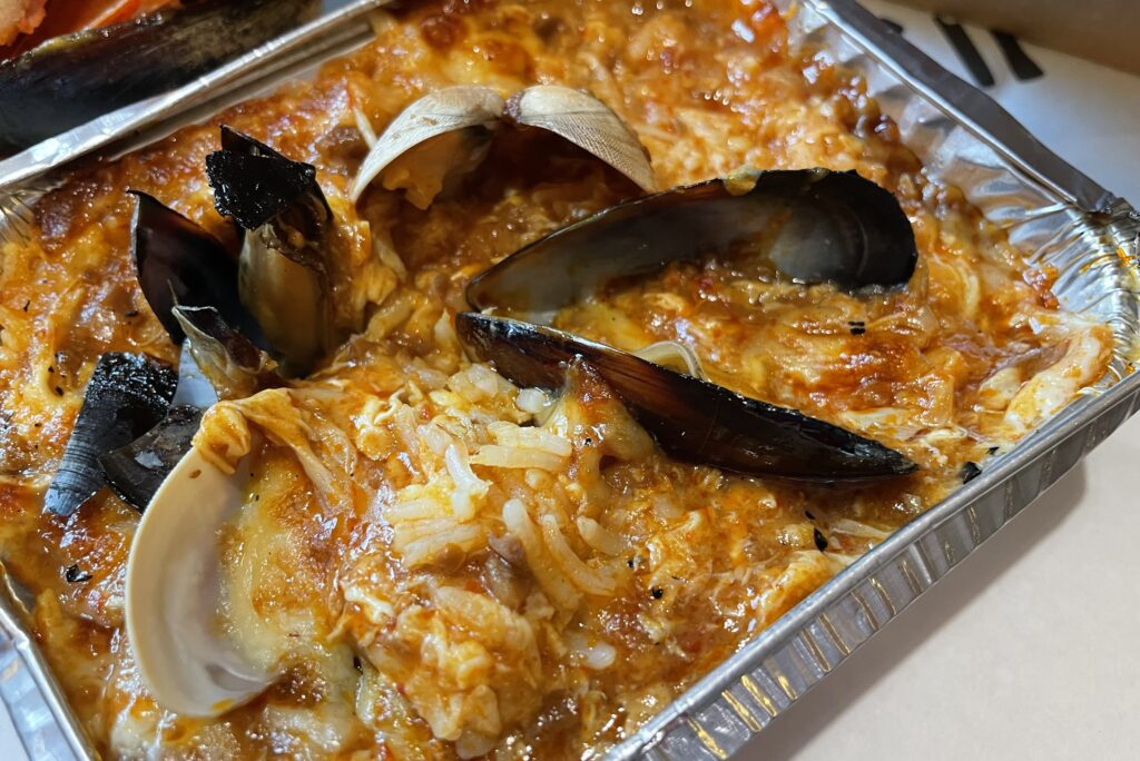 HACK IT Seafood in a pack Jumbo group restaurants virtual dining