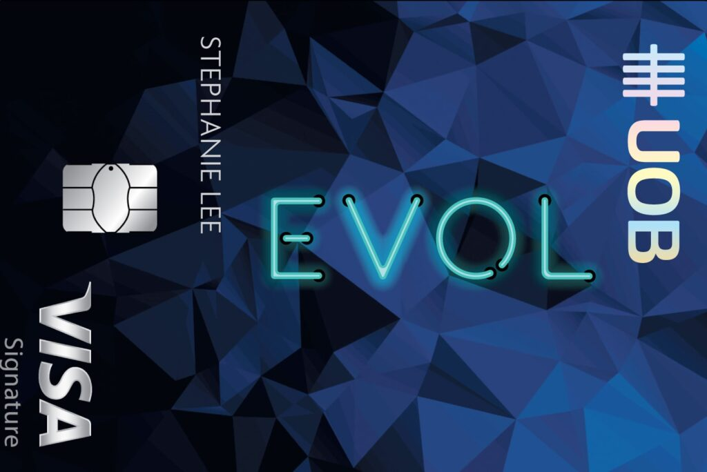 Eco-friendly Credit Cards in Singapore DBS Live Card UOB EVOL card green cashback